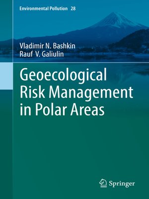 cover image of Geoecological Risk Management in Polar Areas