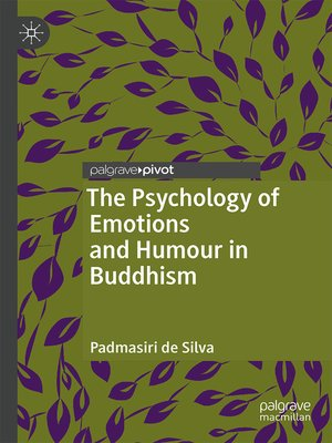 cover image of The Psychology of Emotions and Humour in Buddhism