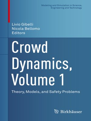 cover image of Crowd Dynamics, Volume 1