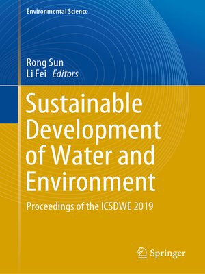cover image of Sustainable Development of Water and Environment
