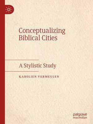 cover image of Conceptualizing Biblical Cities