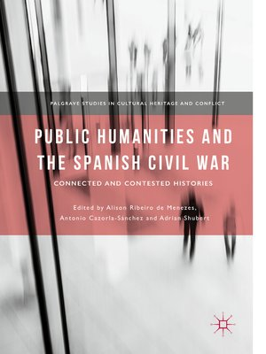 cover image of Public Humanities and the Spanish Civil War