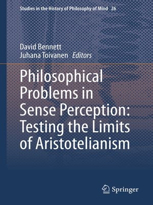 cover image of Philosophical Problems in Sense Perception