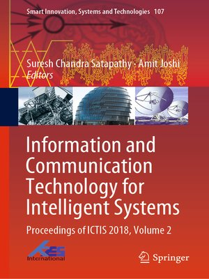 cover image of Information and Communication Technology for Intelligent Systems
