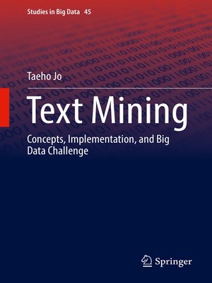 cover image of Text Mining