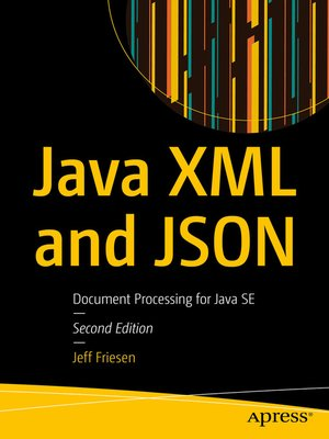 cover image of Java XML and JSON