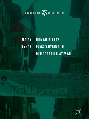 cover image of Human Rights Prosecutions in Democracies at War