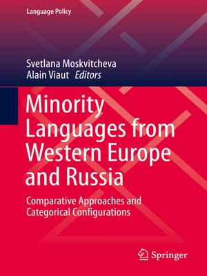 cover image of Minority Languages from Western Europe and Russia