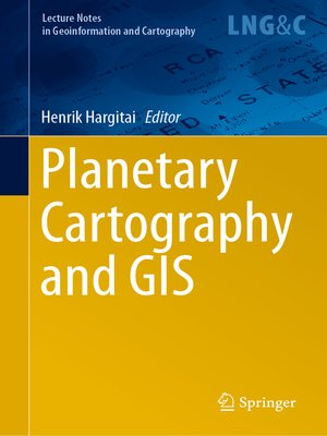 cover image of Planetary Cartography and GIS