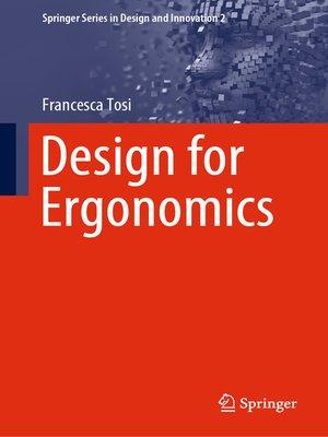 cover image of Design for Ergonomics