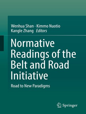 cover image of Normative Readings of the Belt and Road Initiative