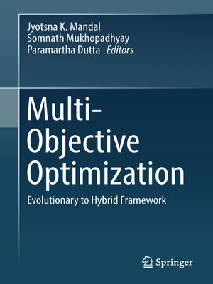 cover image of Multi-Objective Optimization