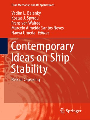 cover image of Contemporary Ideas on Ship Stability