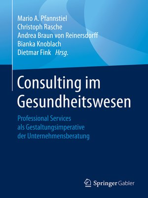 cover image of Consulting im Gesundheitswesen