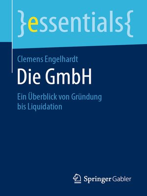 cover image of Die GmbH