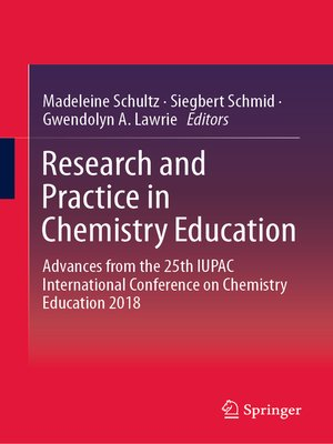 cover image of Research and Practice in Chemistry Education