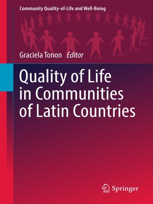 cover image of Quality of Life in Communities of Latin Countries