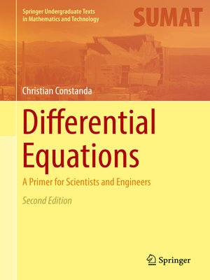 cover image of Differential Equations