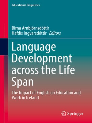 cover image of Language Development across the Life Span