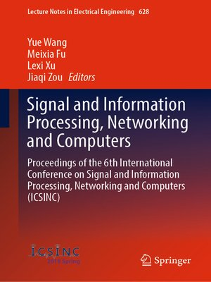 cover image of Signal and Information Processing, Networking and Computers