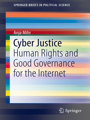 cover image of Cyber Justice
