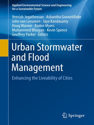 cover image of Urban Stormwater and Flood Management