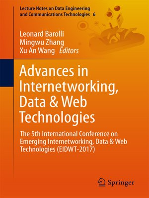 cover image of Advances in Internetworking, Data & Web Technologies