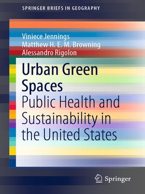 cover image of Urban Green Spaces