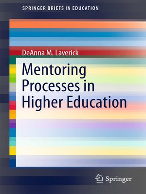cover image of Mentoring Processes in Higher Education