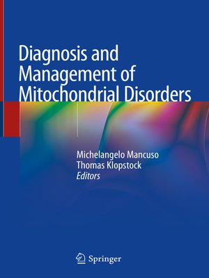 cover image of Diagnosis and Management of Mitochondrial Disorders