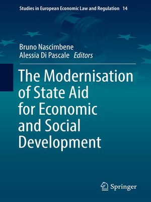 cover image of The Modernisation of State Aid for Economic and Social Development