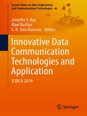 cover image of Innovative Data Communication Technologies and Application