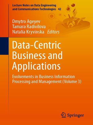 cover image of Data-Centric Business and Applications