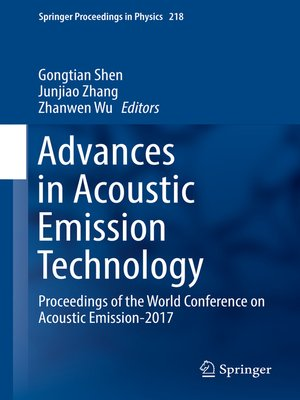 cover image of Advances in Acoustic Emission Technology