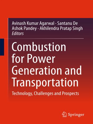 cover image of Combustion for Power Generation and Transportation
