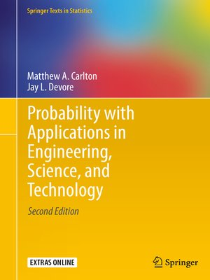 cover image of Probability with Applications in Engineering, Science, and Technology