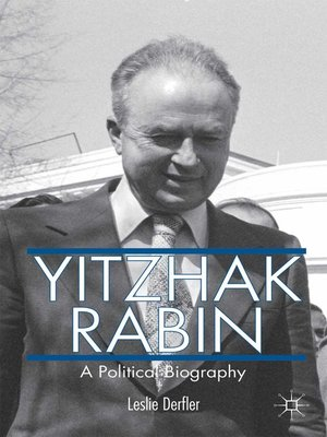 cover image of Yitzhak Rabin
