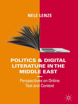 cover image of Politics and Digital Literature in the Middle East