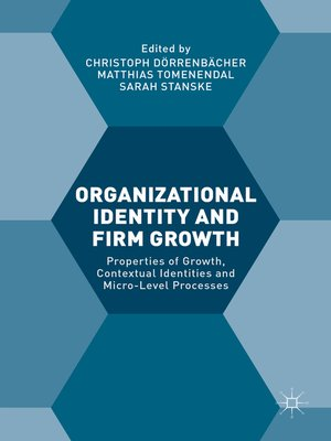 cover image of Organizational Identity and Firm Growth