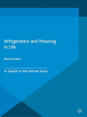 cover image of Wittgenstein and Meaning in Life