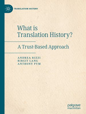 cover image of What is Translation History?