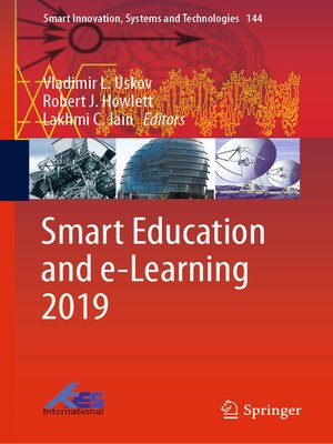 cover image of Smart Education and e-Learning 2019