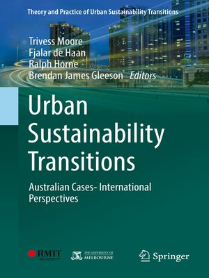 cover image of Urban Sustainability Transitions