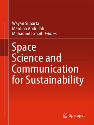 cover image of Space Science and Communication for Sustainability