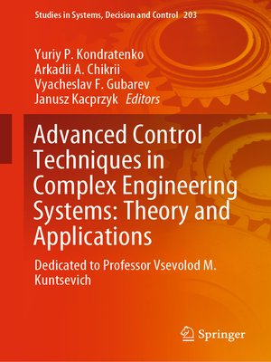 cover image of Advanced Control Techniques in Complex Engineering Systems
