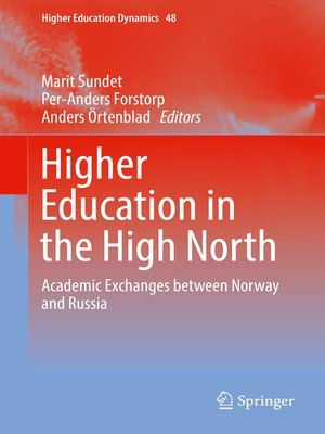 cover image of Higher Education in the High North