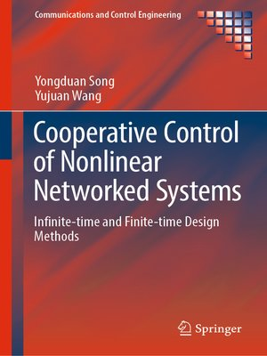 cover image of Cooperative Control of Nonlinear Networked Systems