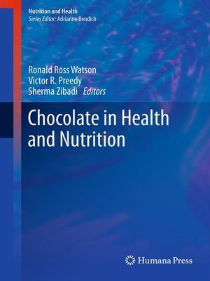 cover image of Chocolate in Health and Nutrition