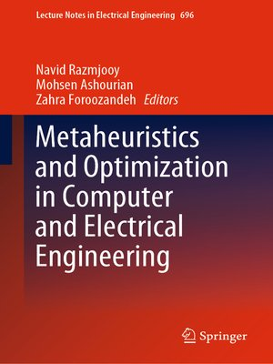 cover image of Metaheuristics and Optimization in Computer and Electrical Engineering