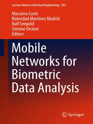 cover image of Mobile Networks for Biometric Data Analysis